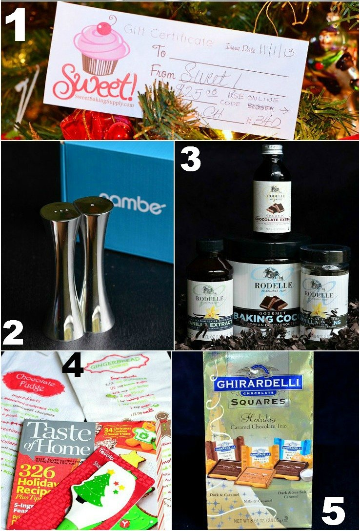 Will Cook For Smiles Christmal Wish Basket Giveaway