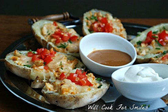 BBQ Chicken Potato Skins 2 edited