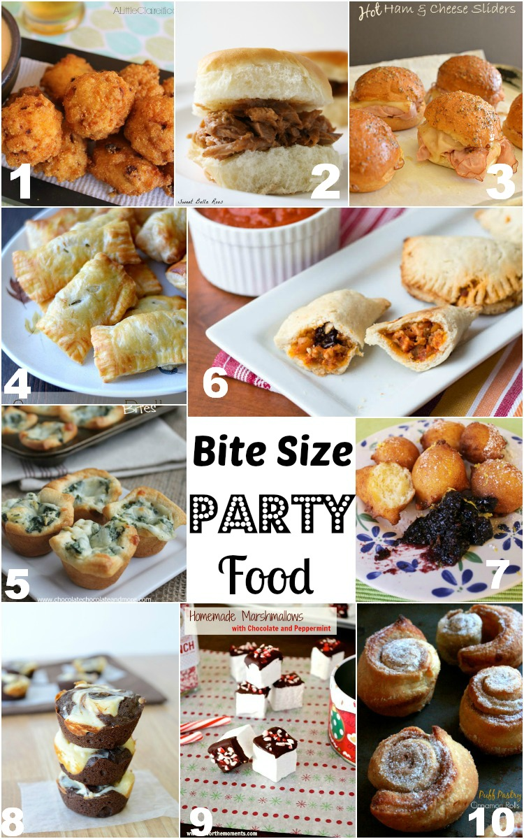 Bite Sized Party Food