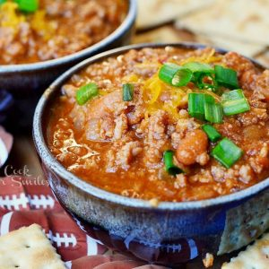 Boozy Chili Recipe 1 from willcookforsmiles.com #chili