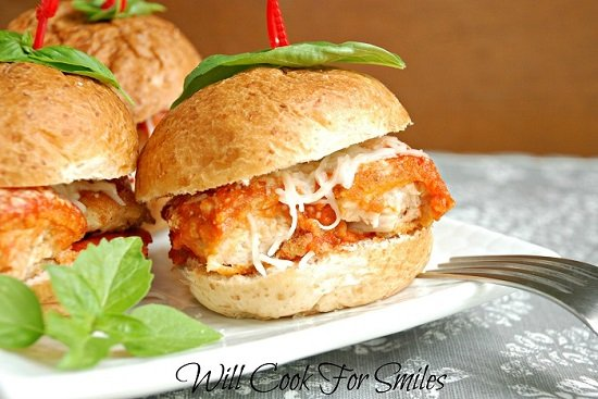 Chicken Parm Sliders 5 ed