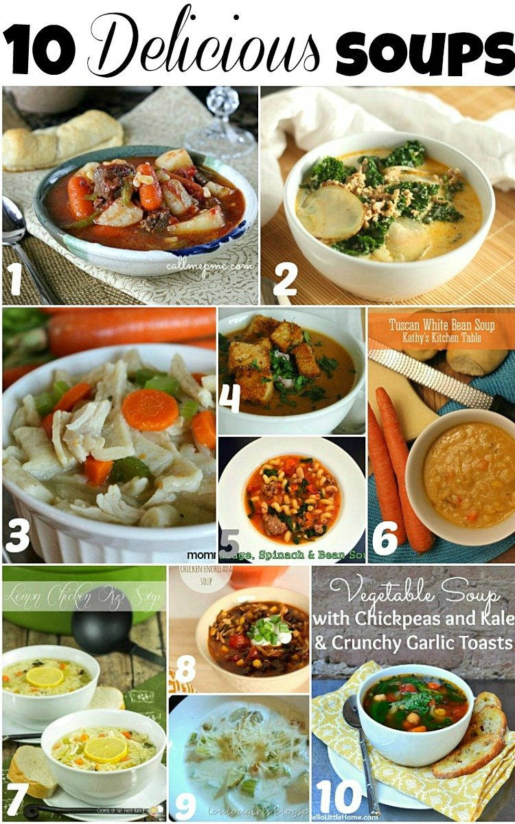 Delicious Soup Features, Perfect for Cold Weather