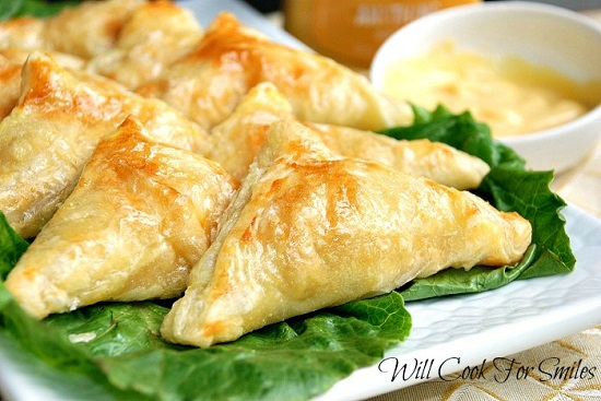 Honey Dijon Chicken Pockets 2 ed