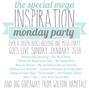 Inspiration Monday Mega Party & Giveaway