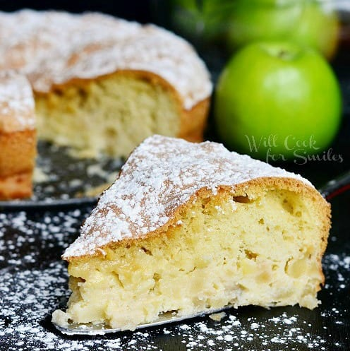Sharlotka Russian Apple Cake 4cr