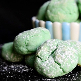 Soft & Chewy Cotton Candy Cookies