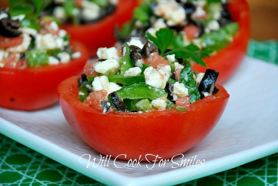Stuffed Tomato Cups 4ed