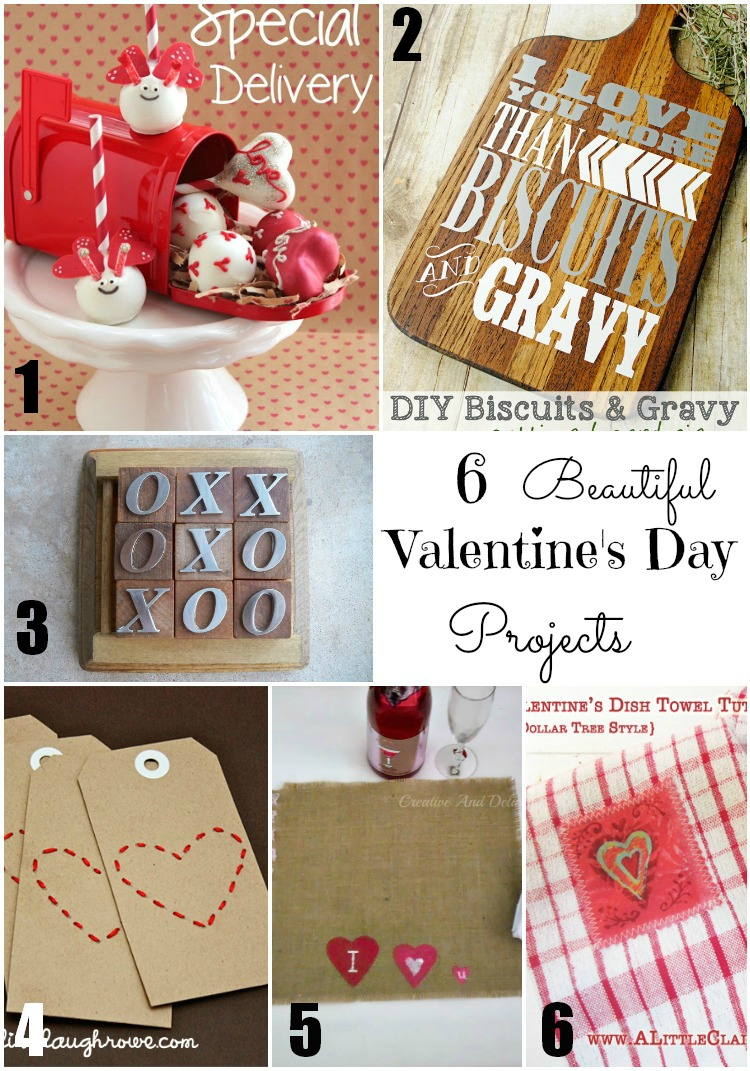 Valentine's Day Projects Features