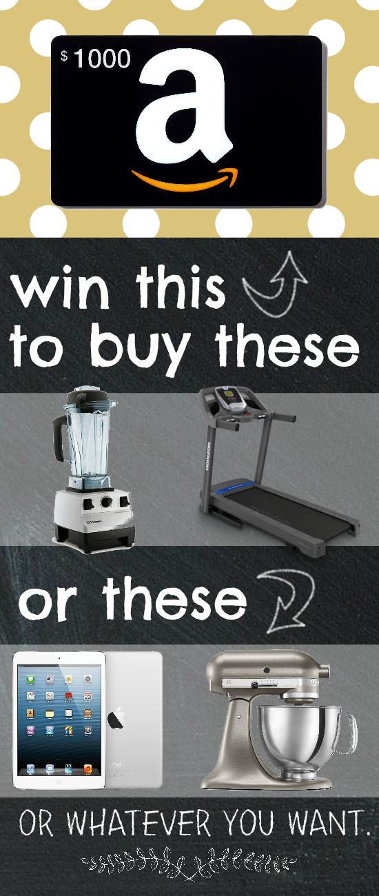Win an Amazon Gift Card (1)