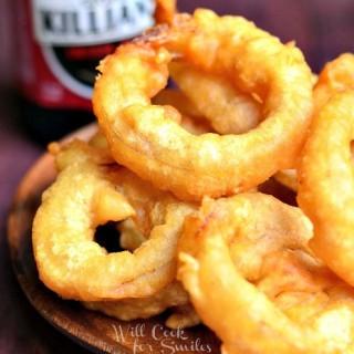 Beer Batter Onion Rings