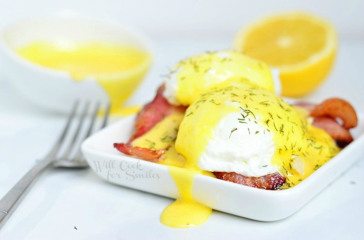 Hollandaise Sauce and Eggs Benedict 2 from willcookforsmiles.com #sauce