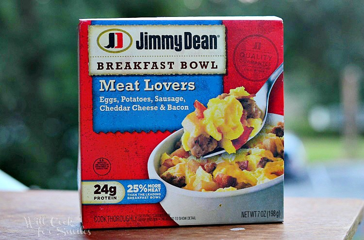 Jimmy Dean Meat Lovers Breakfast Bowl
