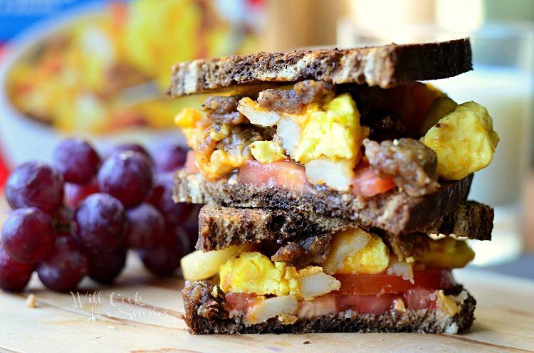 Jimmy Dean Meat Lover's Breakfast Bowls1