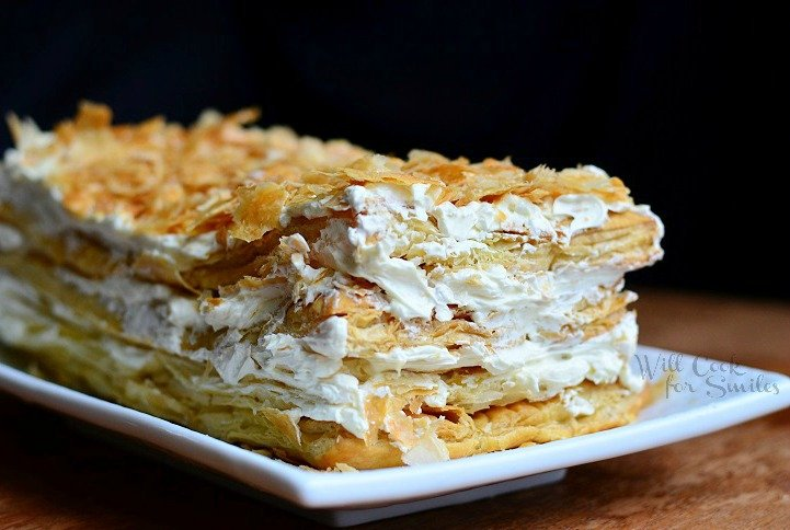 How To Make Napoleon Cake With Puff Pastry