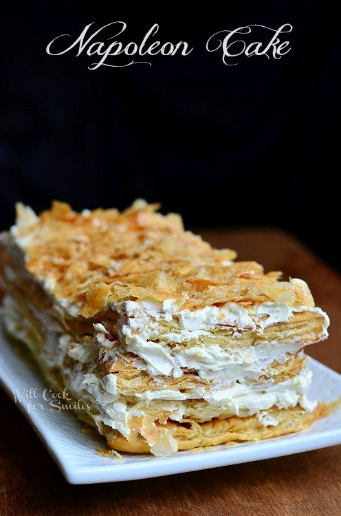 Napoleon Cake |  from willcookforsmiles.com #cake