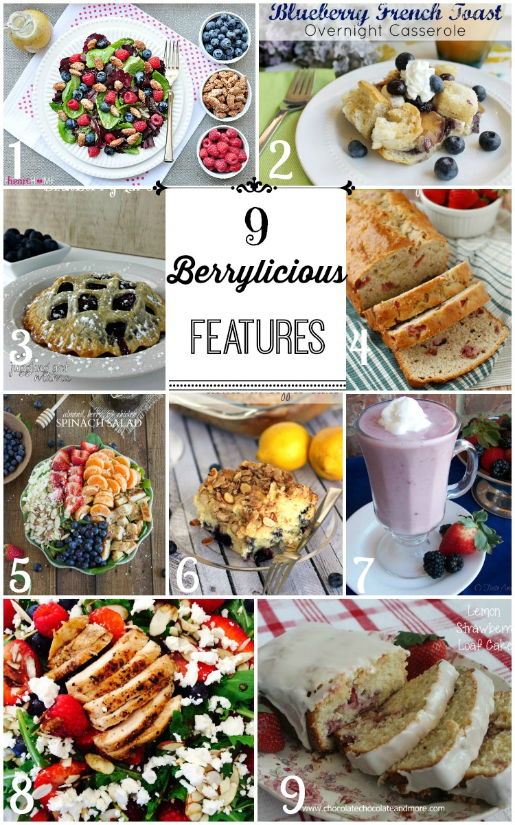 9 Berrylicious Features
