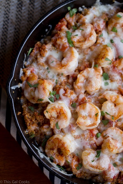 Cajun-Shrimp-and-Quinoa-Casserole