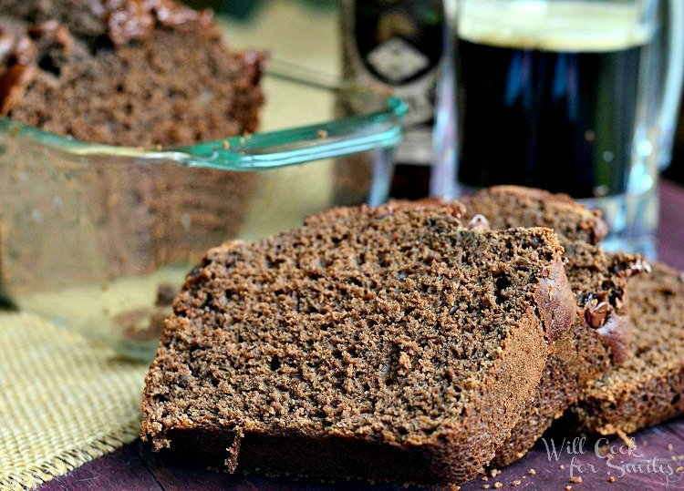 Chocolate Stout Bread 4 willcookforsmiles.com #bread #chocolate #beerbread