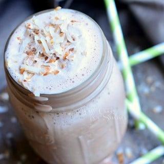 Coconut Mocha Milkshake & #DunkinMugUp