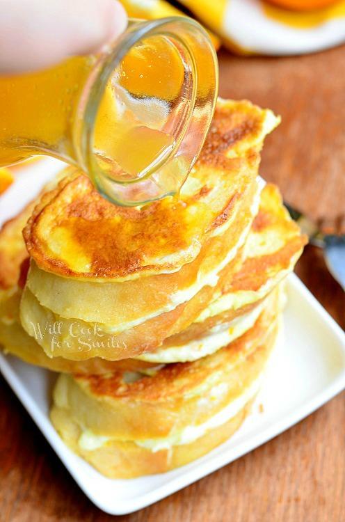 Orange Creamsicle French Toast |  from willcookforsmiles.com #breakfast #orange #frenchtoast