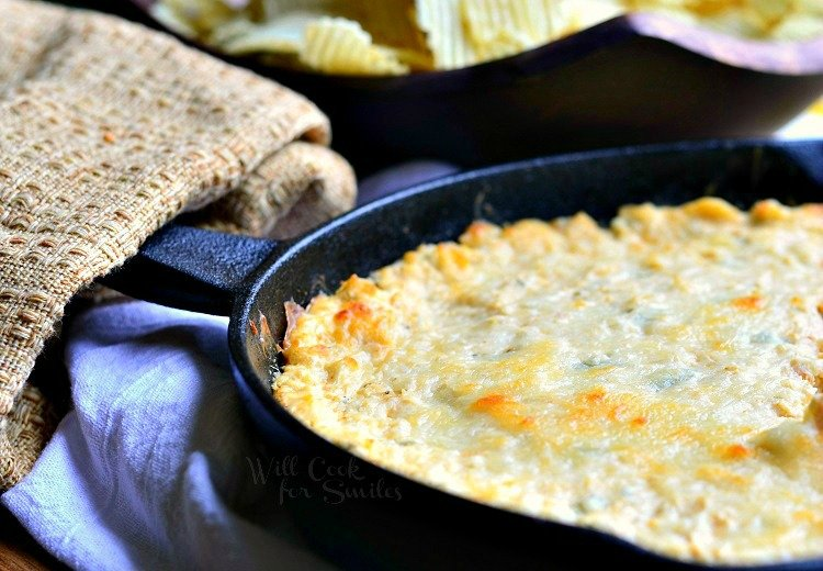 Spicy Chicken Ranch Hot Dip Will Cook For Smiles