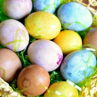 Dyeing Eggs Naturally and Egg Hunt Riddles