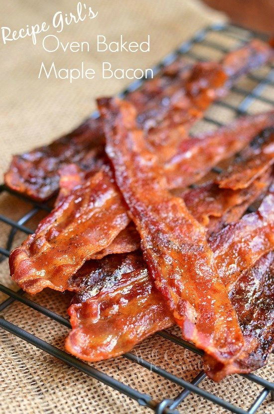 Recipe Girl's Maple Dijon Bacon 2  find on willcookforsmiles.com #bacon
