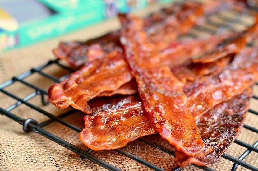 Recipe Girl's Maple Dijon Bacon 3 find on willcookforsmiles.com #bacon