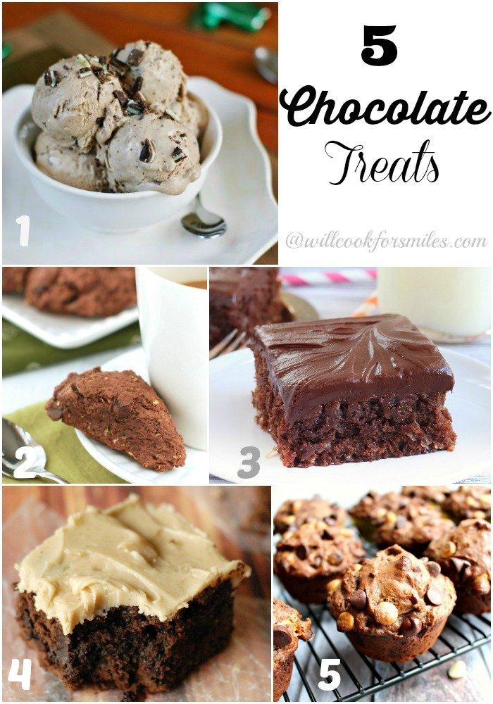 5 Chocolate Treats Features