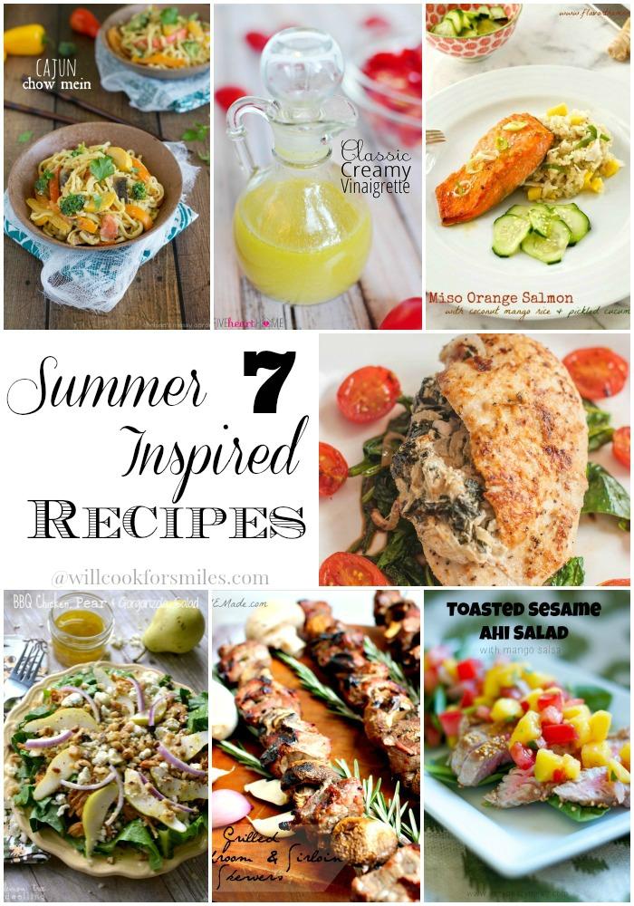 7 Summer Inspired Recipes