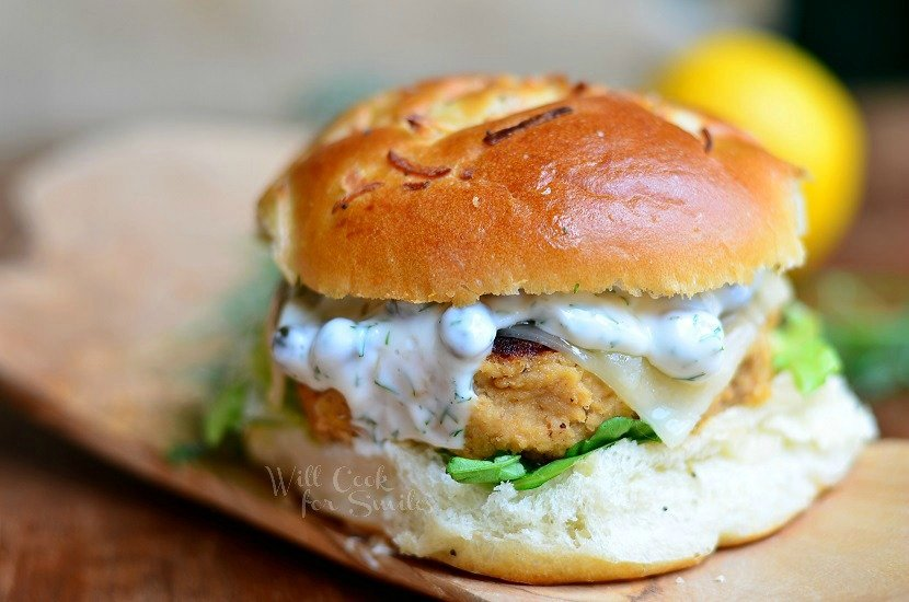 Perfect Salmon Burger 2 willcookforsmiles.com