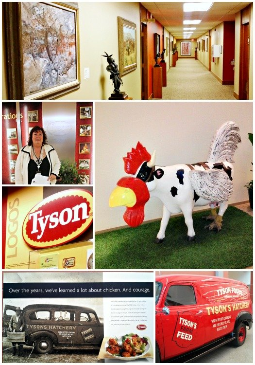 Tyson Headquarters Tour