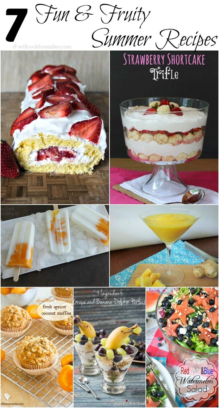 7 Fun & Fruity Summer Recipes Features