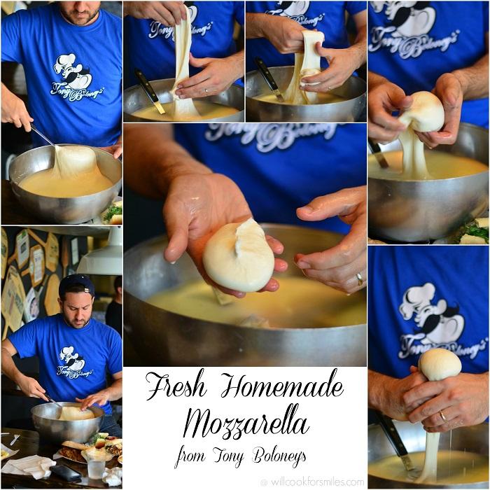 DoAC Tony Boloney's Mike Making Homemade Mozzarella