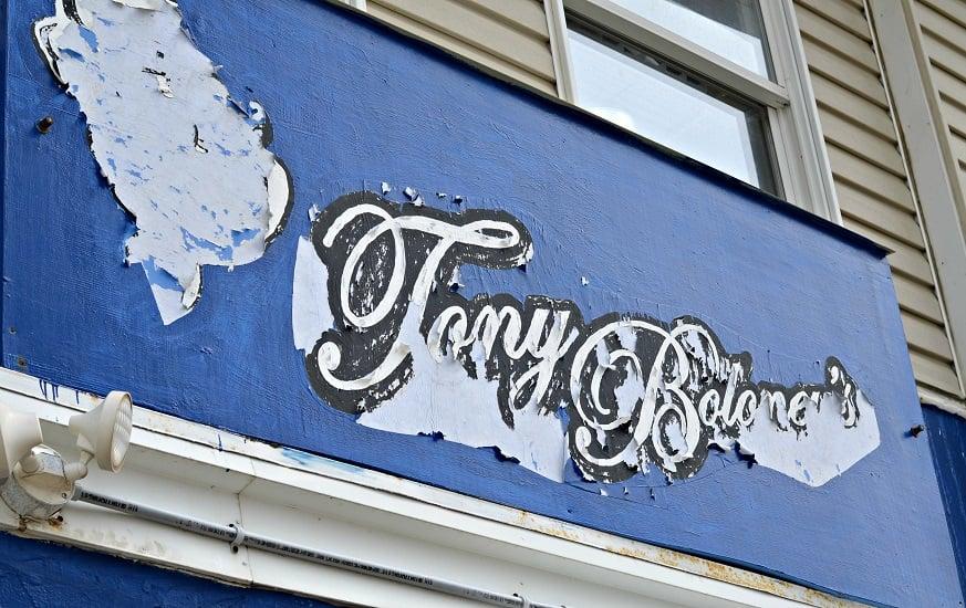DoAC Tony Boloney's Sign