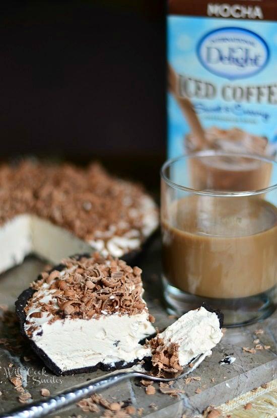 Mocha Ice Cream Pie from willcookforsmiles.com