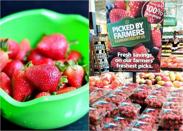 WalMart Produce, Strawberries