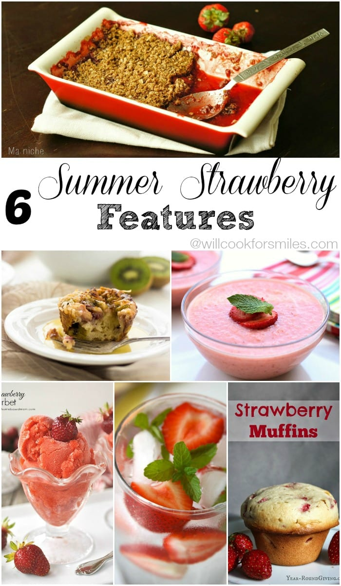 6 Strawberry Features