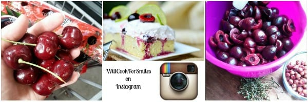 Cherry Limeade Poke Cake and WillCookForSmiles on Instagram