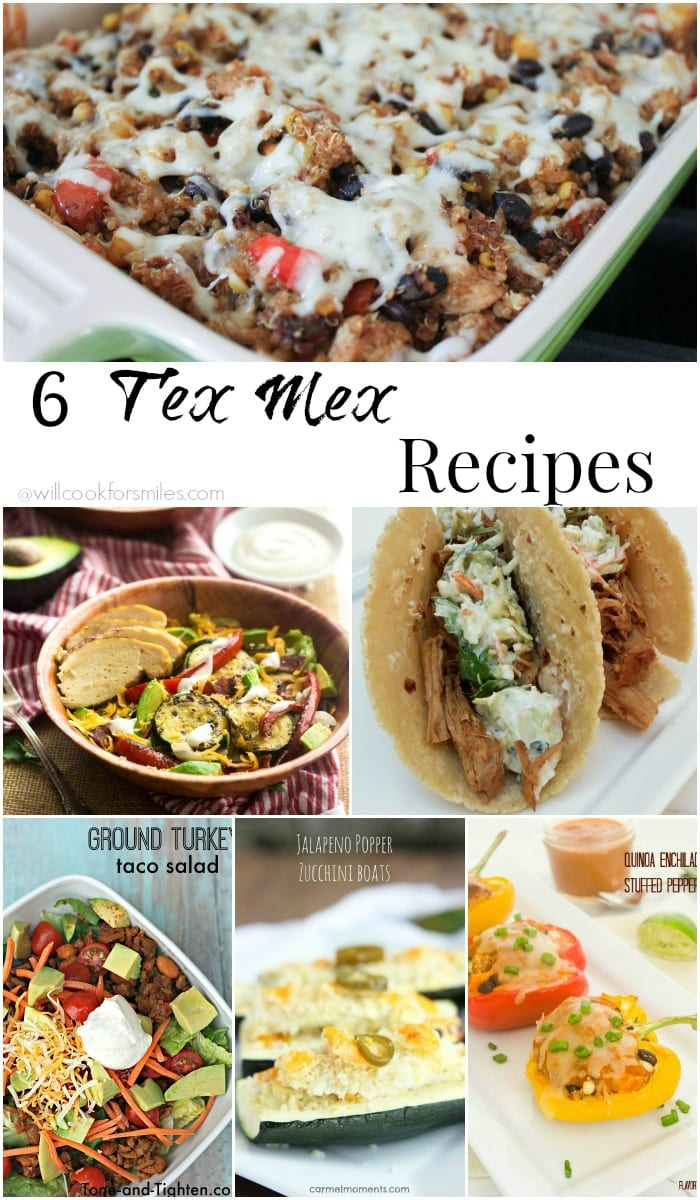 Scrumptious Tex Mex Recipes