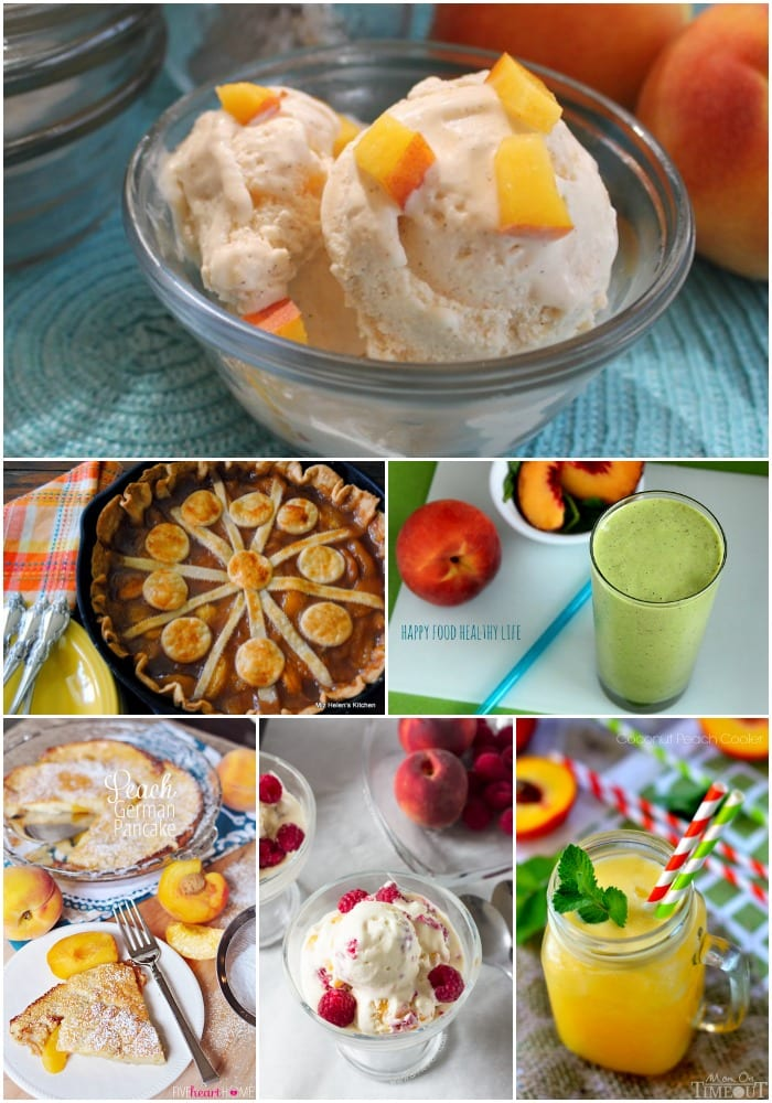 6 Perfectly Peach Summer Recipes