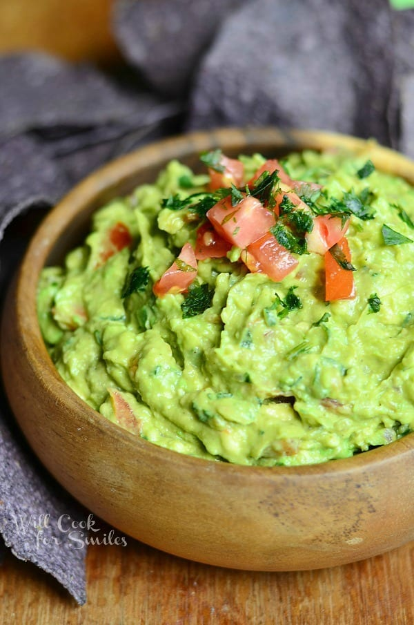 Amazing Guacamole Recipe 1 from willcookforsmiles.com