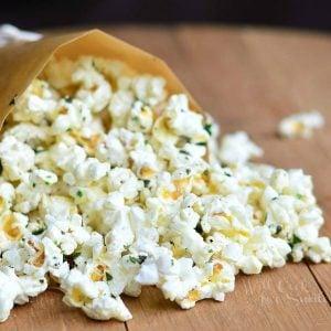 Italian Truffle Oil Popcorn 2 from willcookforsmiles.com