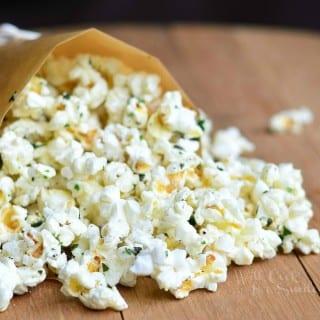 Italian Truffle Oil Popcorn