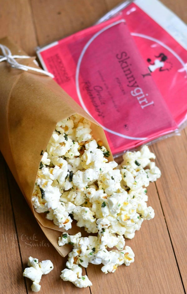 Italian Truffle Oil Popcorn from willcookforsmiles.com