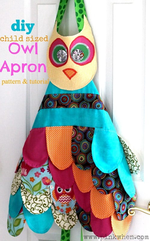 My-Little-Owl-Apron-Toddler-Child-Owl-Apron-Tutorial-PinkWhen.com_