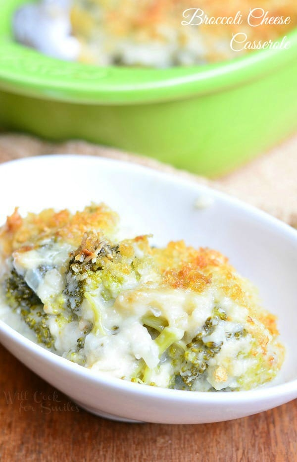 Broccoli Cheese Casserole is one of the best side dishes ever created ...