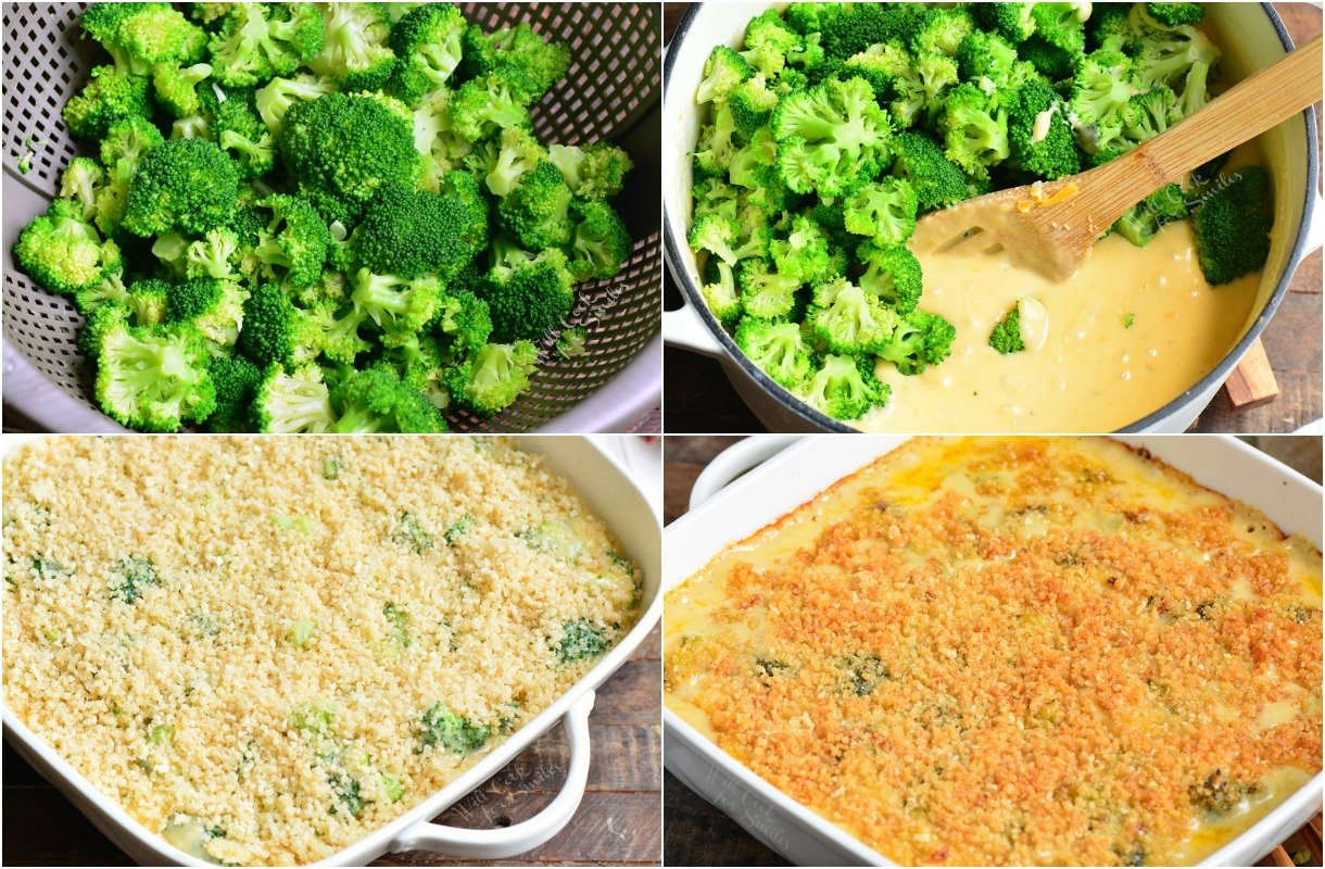 steps on how to make broccoli casserole