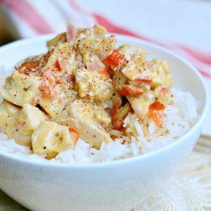 Creamy Cajun Chicken & Rice 1 from willcookforsmiles.com