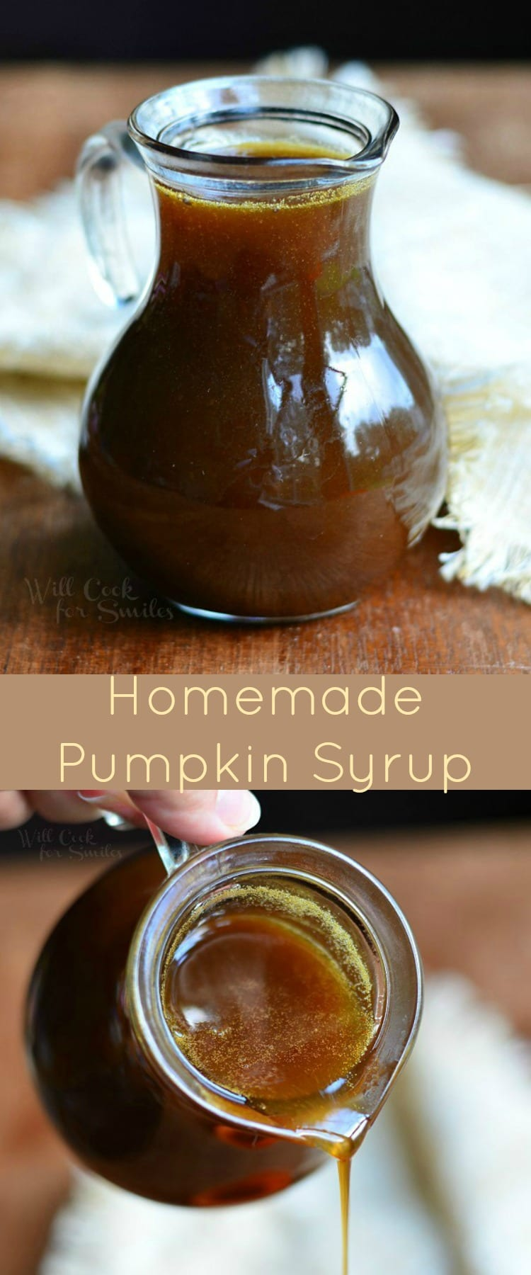 Homemade Pumpkin Syrup Recipe. This homemade topping is easy to make and it goes perfectly with pancakes, waffles, ice cream, and many other treats. #pumpkin #topping #homemade #Pancakes #waffles #syrup